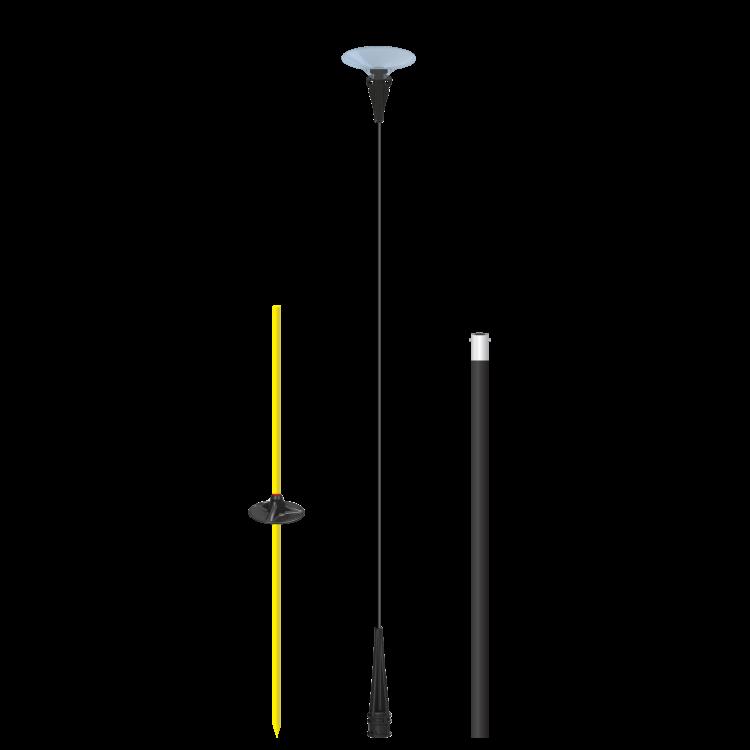 DuraBalloon® Short Ground Pole Kit